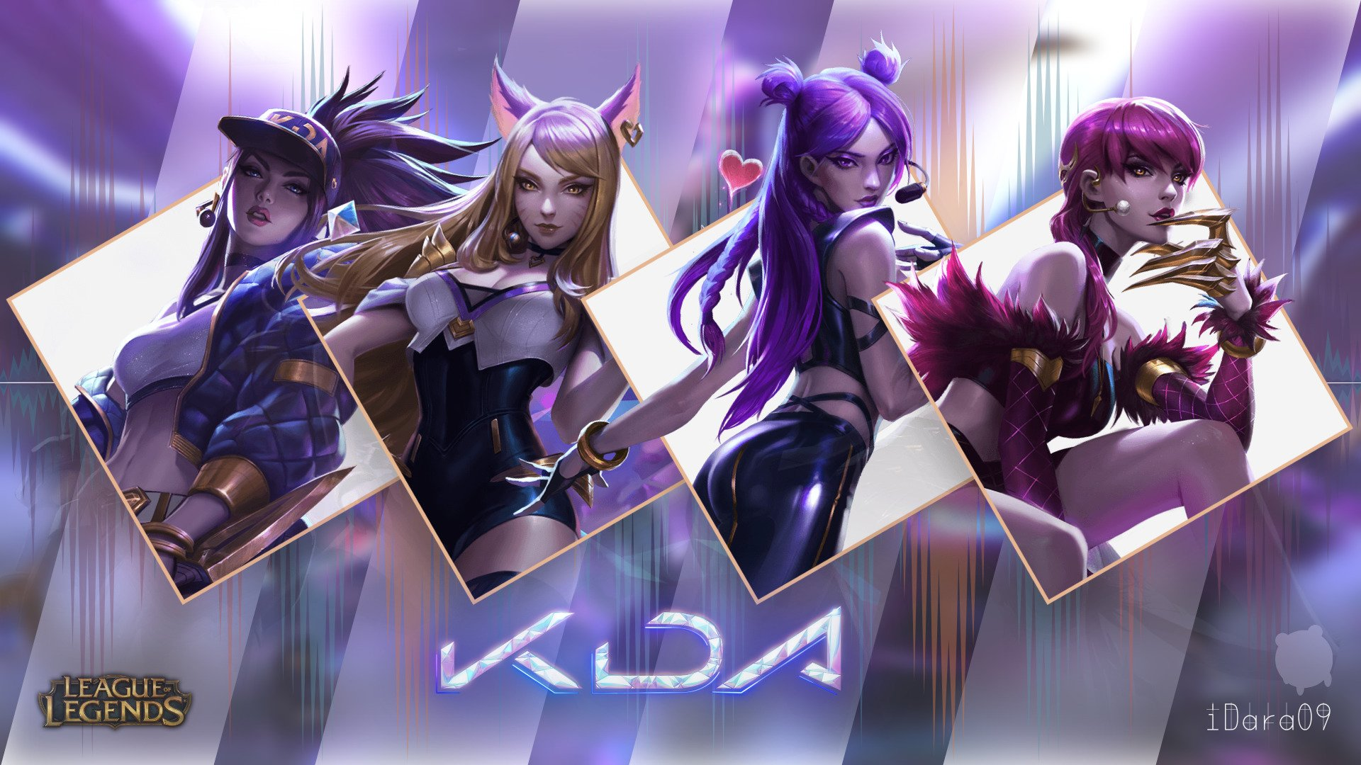 Free download LoL Beautiful KDA Pop Stars Girls by Idara09 ...