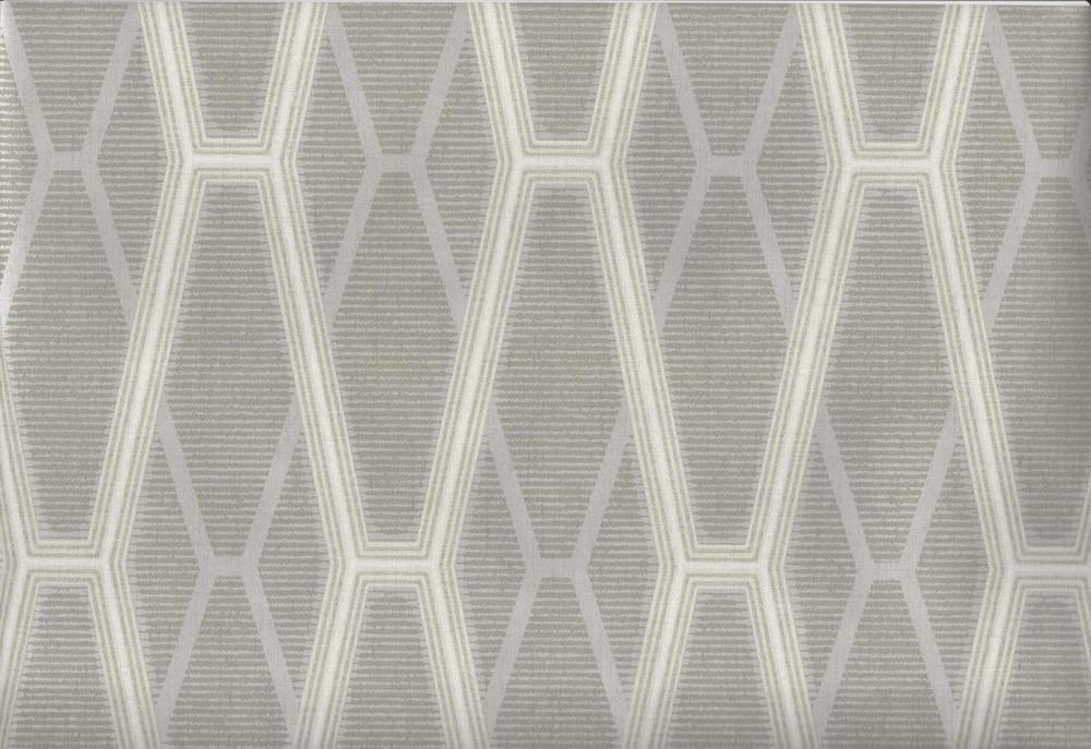 Wallpaper Designer Modern Geometric Gray Taupe Cream Lattice Trellis 1000x687