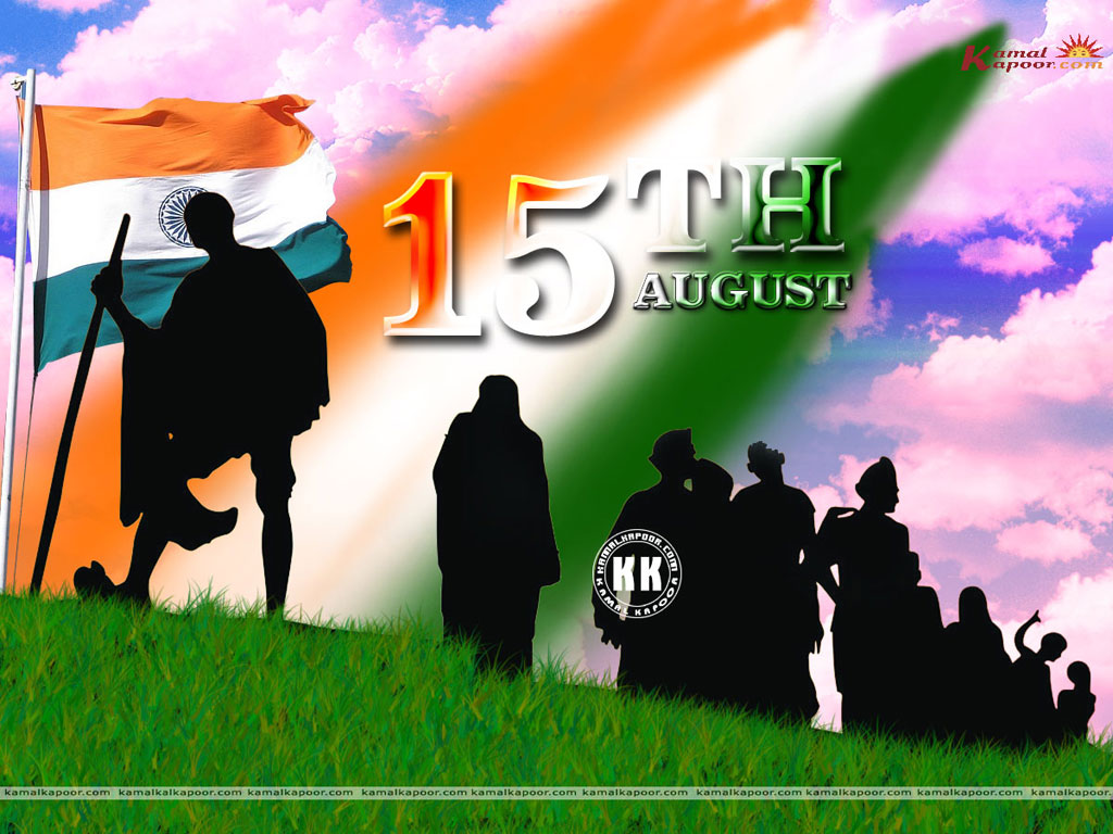 Beautiful Independence Day Wallpapers   India 15th August 1947 1024x768