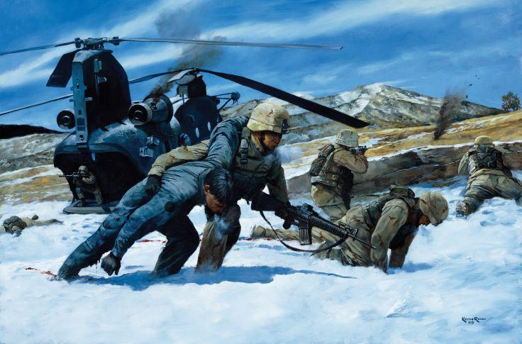 military art united states america artwork war 5 wallpaper 736x485