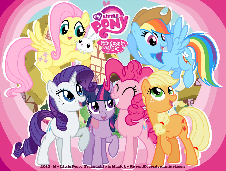 Free Download Wallpaper My Little Pony By Ravenevert 1500x1134