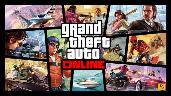 Free download Wallpaper GTA V online sur PS4 Xbox One WiiU