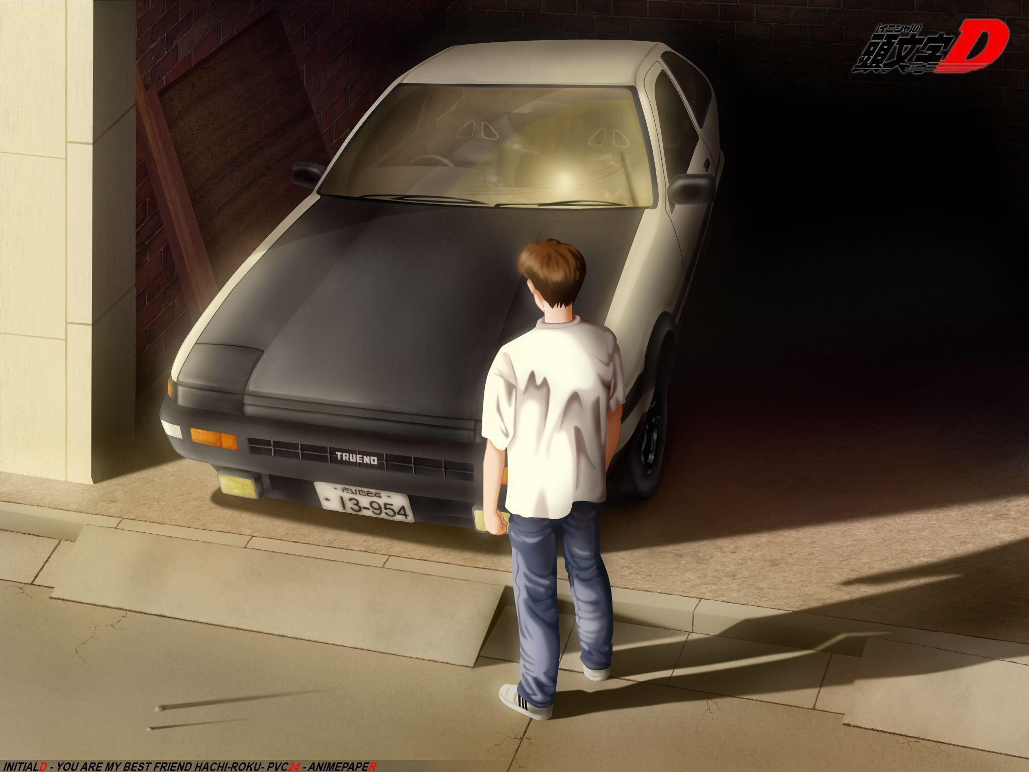 Wallpapers Initial D 2048x1536