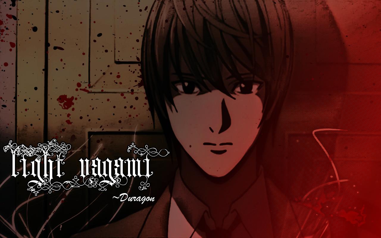 Yagami Light Wallpaper by TDuragon 1280x800