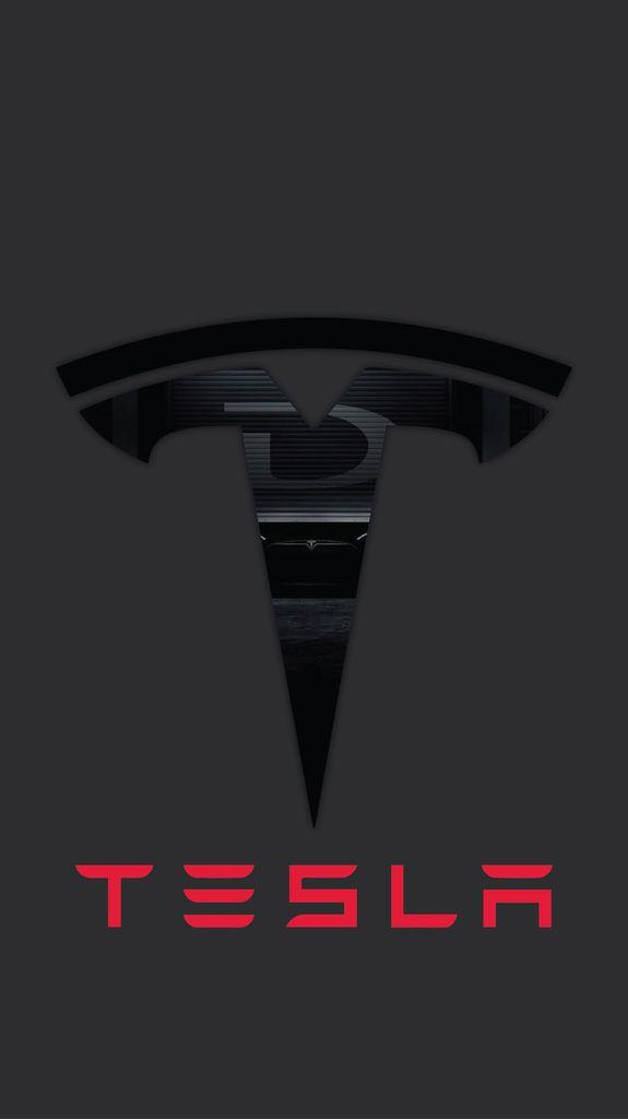 Tesla iPhone wallpaper Tesla logo Car logos Tesla model x 575x1024