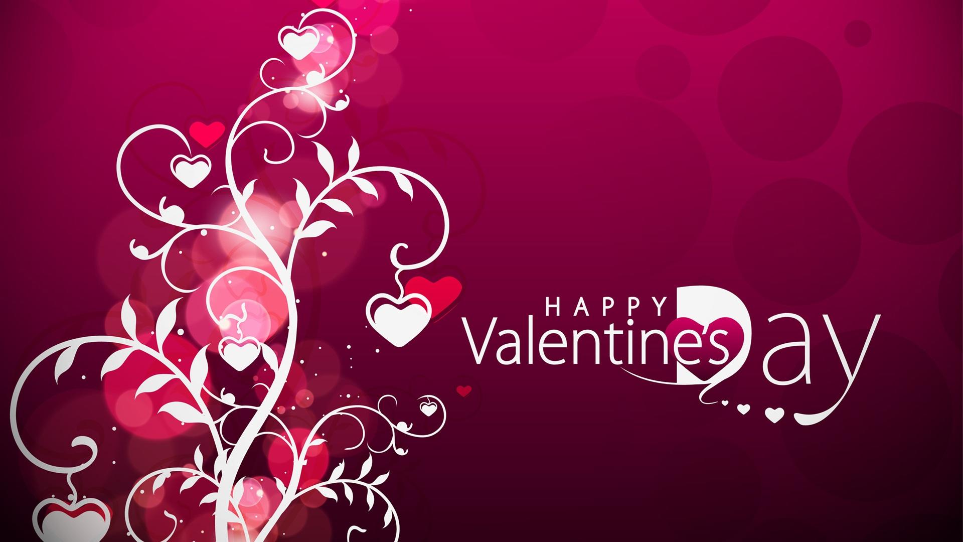 Valentine s Day hearts Wallpaper Desktop Wallpapers Wallpapers 1920x1080