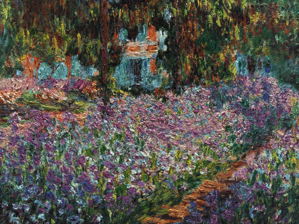 Western Paintings French impressionist painting Claude Monet 1024x768