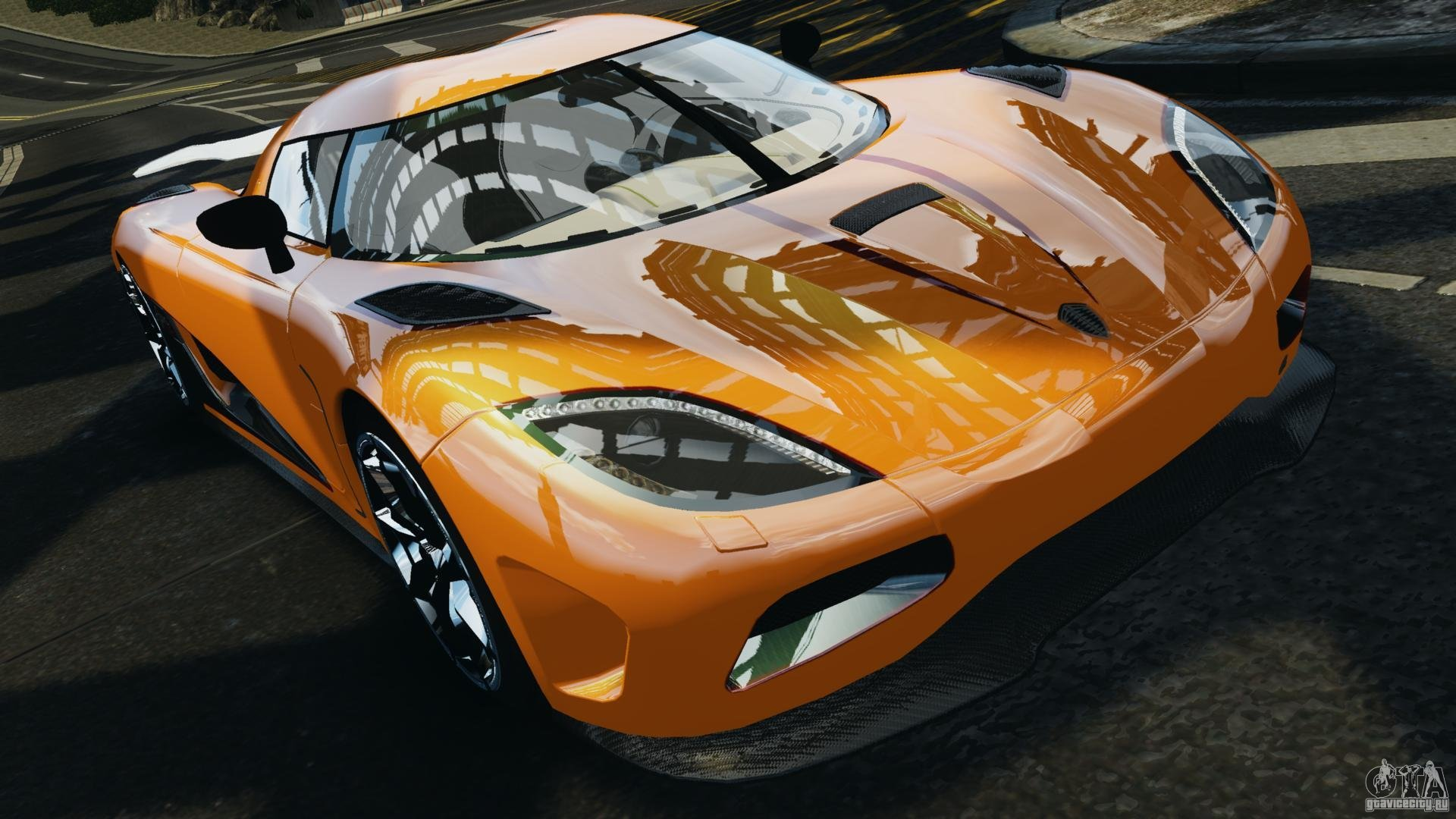 Free download Koenigsegg Agera R v20 [EPM] for GTA 4 [1920x1080] for
