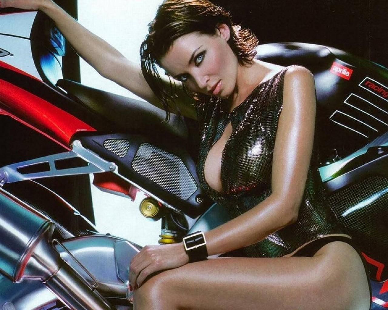 Motorcycle Girls Wallpapers  WallpaperSafari