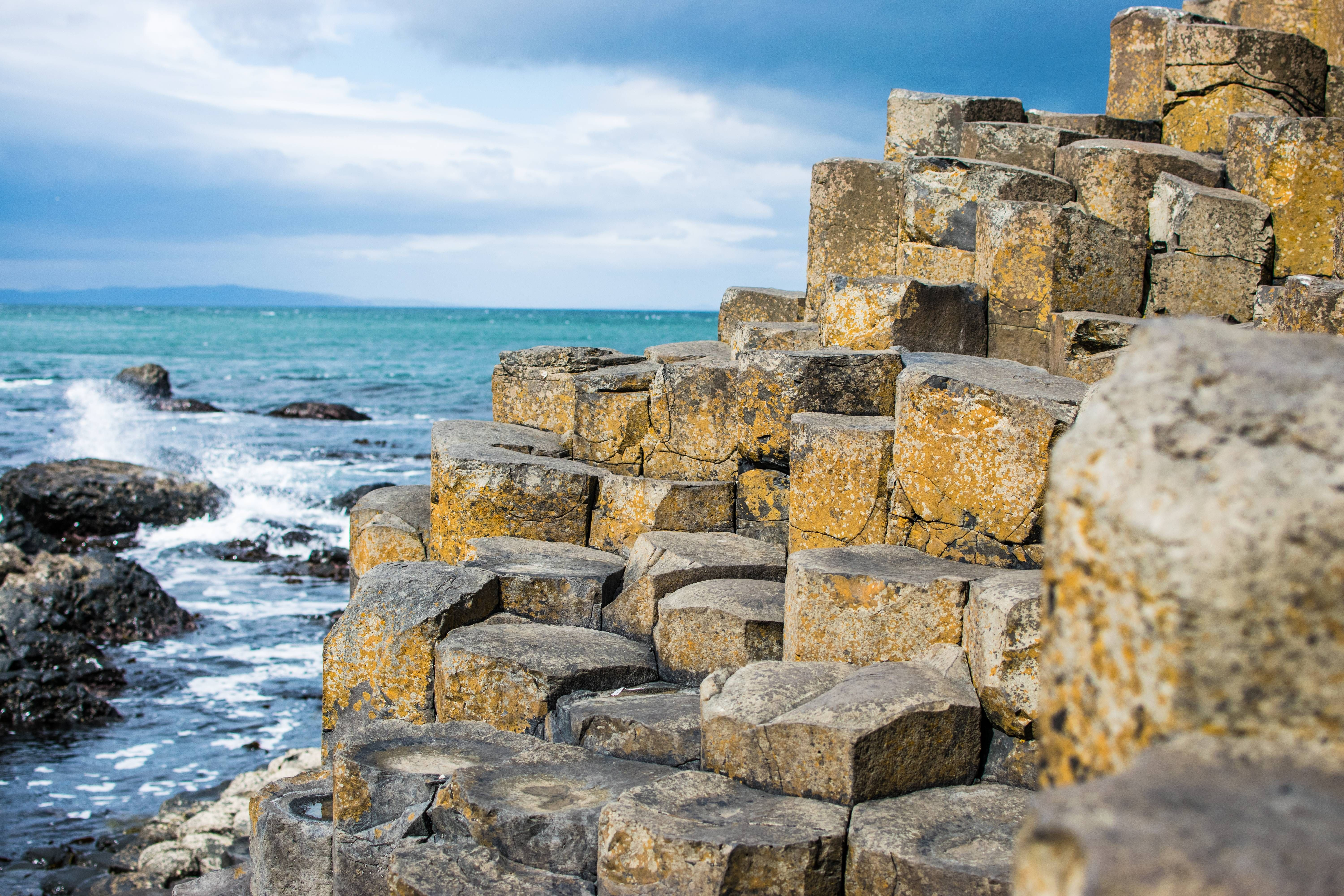 The Giants Causeway in Northern Ireland HD Wallpaper From 6000x4000