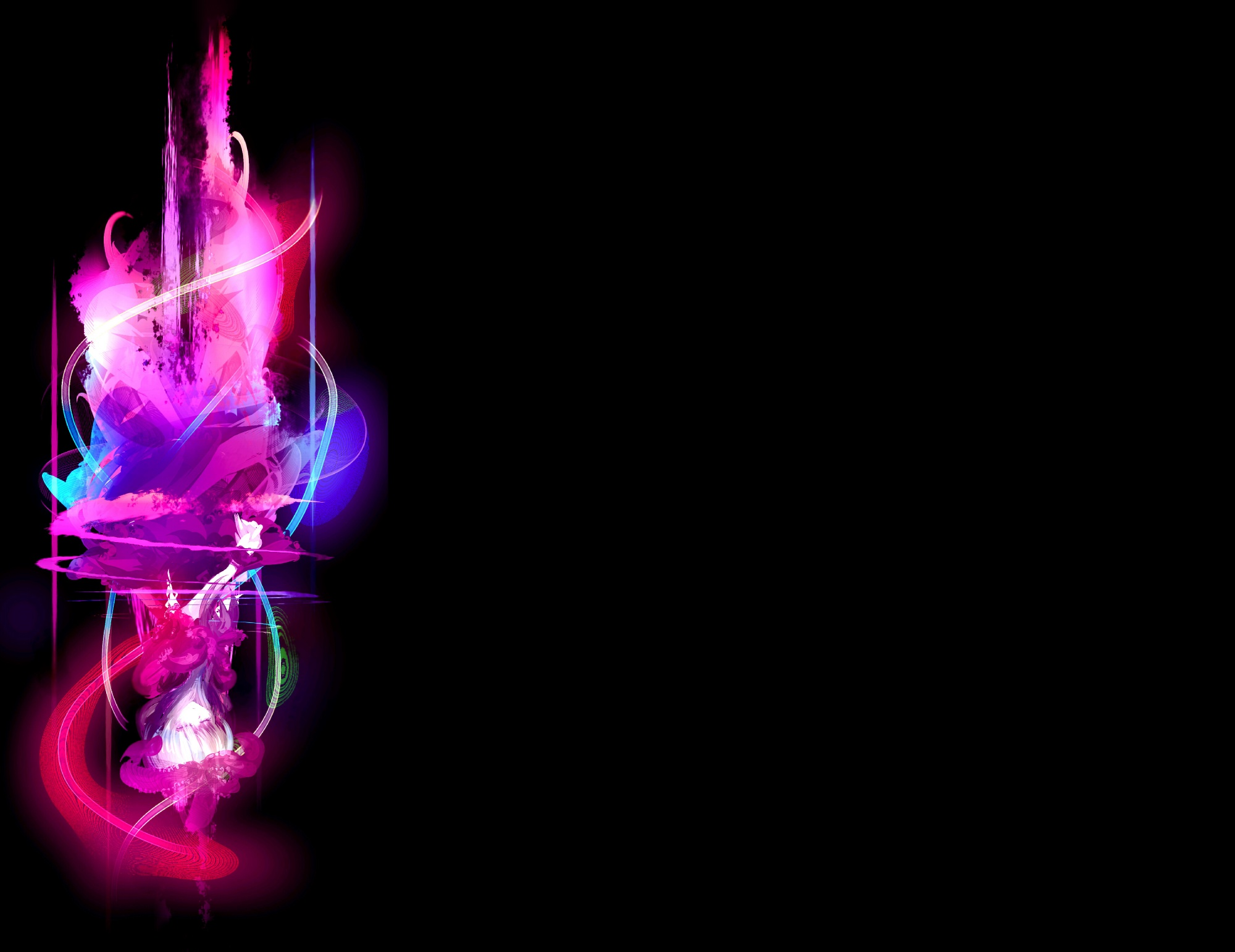 Neon Pink Background Wallpaper - WallpaperSafari