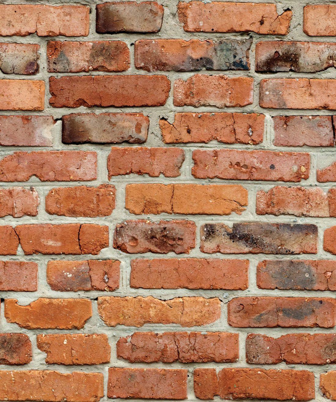 Camden Factory Bricks Wallpaper Realistic Red Brick Milton King 1100x1318