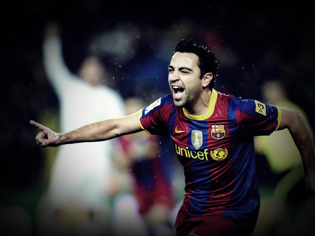 Football Super Star Player Xavi Hernandez New HD 1024x768