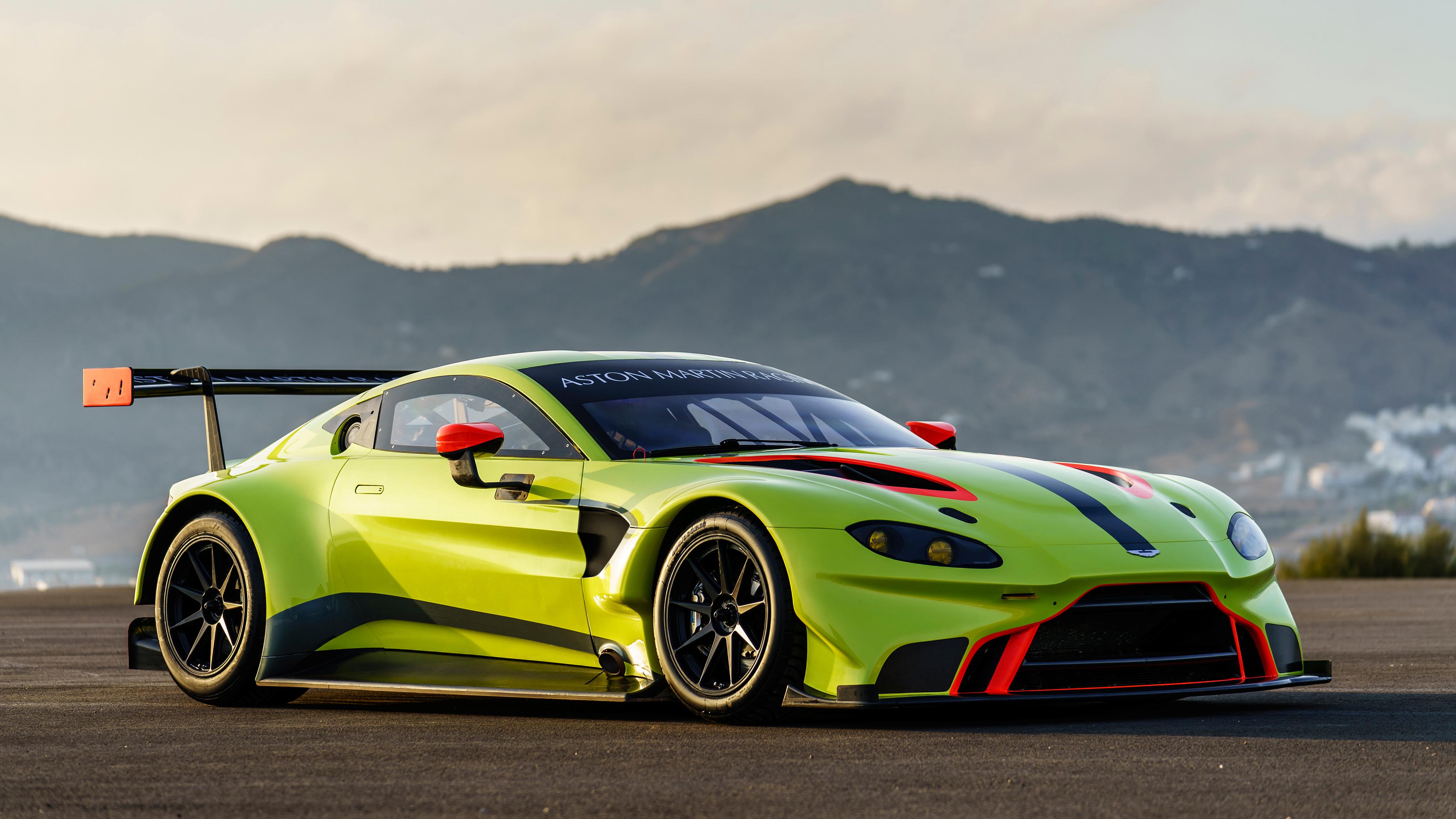 2018 Aston Martin Vantage GTE 4K 4 Wallpaper HD Car Wallpapers 4096x2304