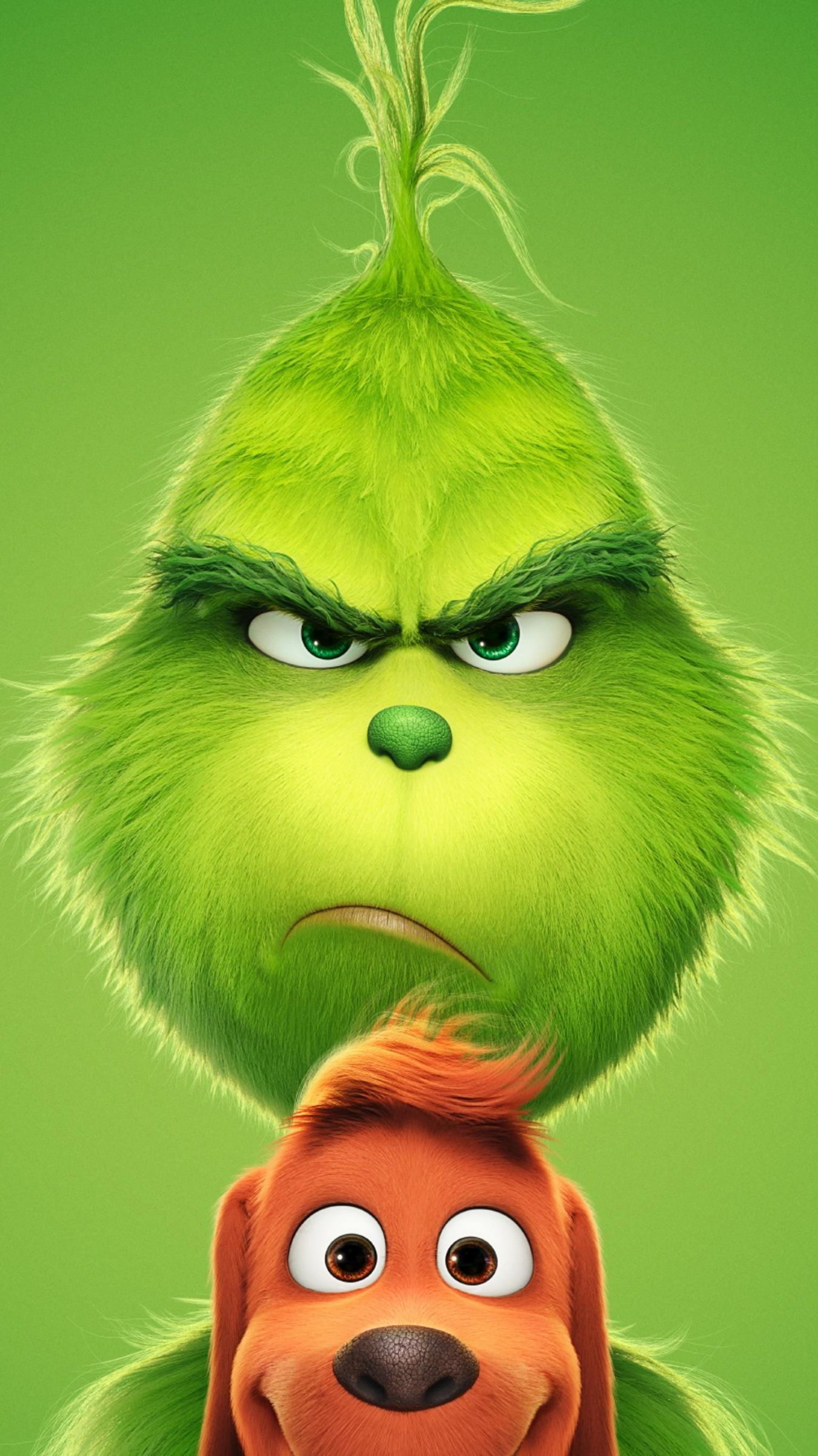 The Grinch 2018 HD Wallpapers 7wallpapersnet The grinch full 1349x2400