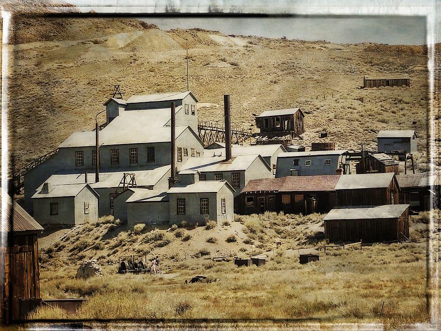 HD wallpaper bodie gold mine ghost town california usa 910x683