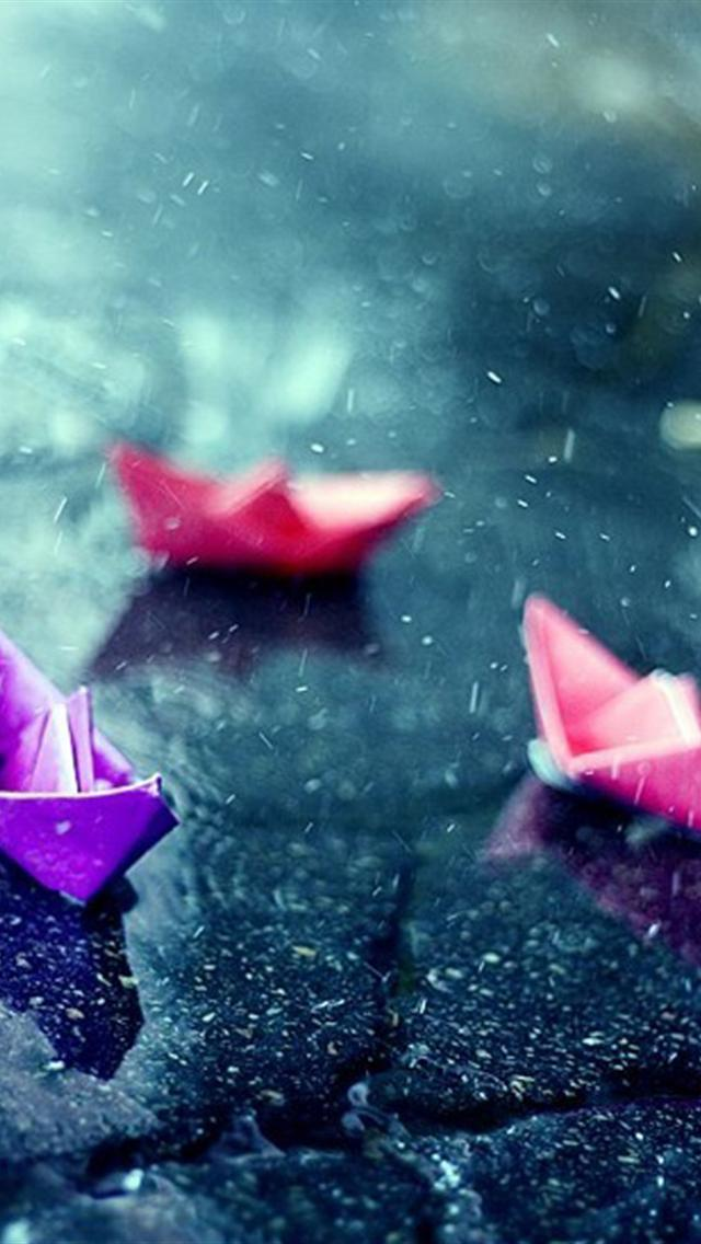 iphone 5 wallpapers hd cute color Thousand Paper Crane iphone 5 640x1136