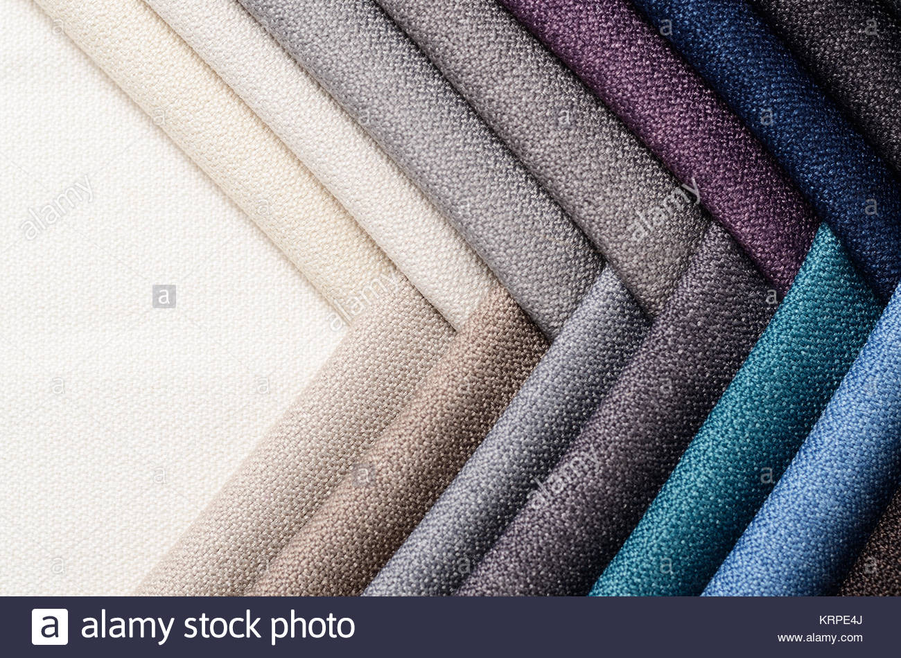 Bright collection of gunny textile samples Fabric texture Stock 1300x950