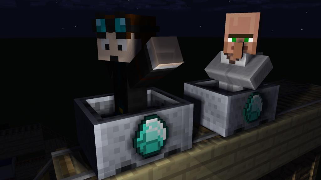 Minecraft TDM and DR TRAYAURUS by MrEdPicWorld 1024x576