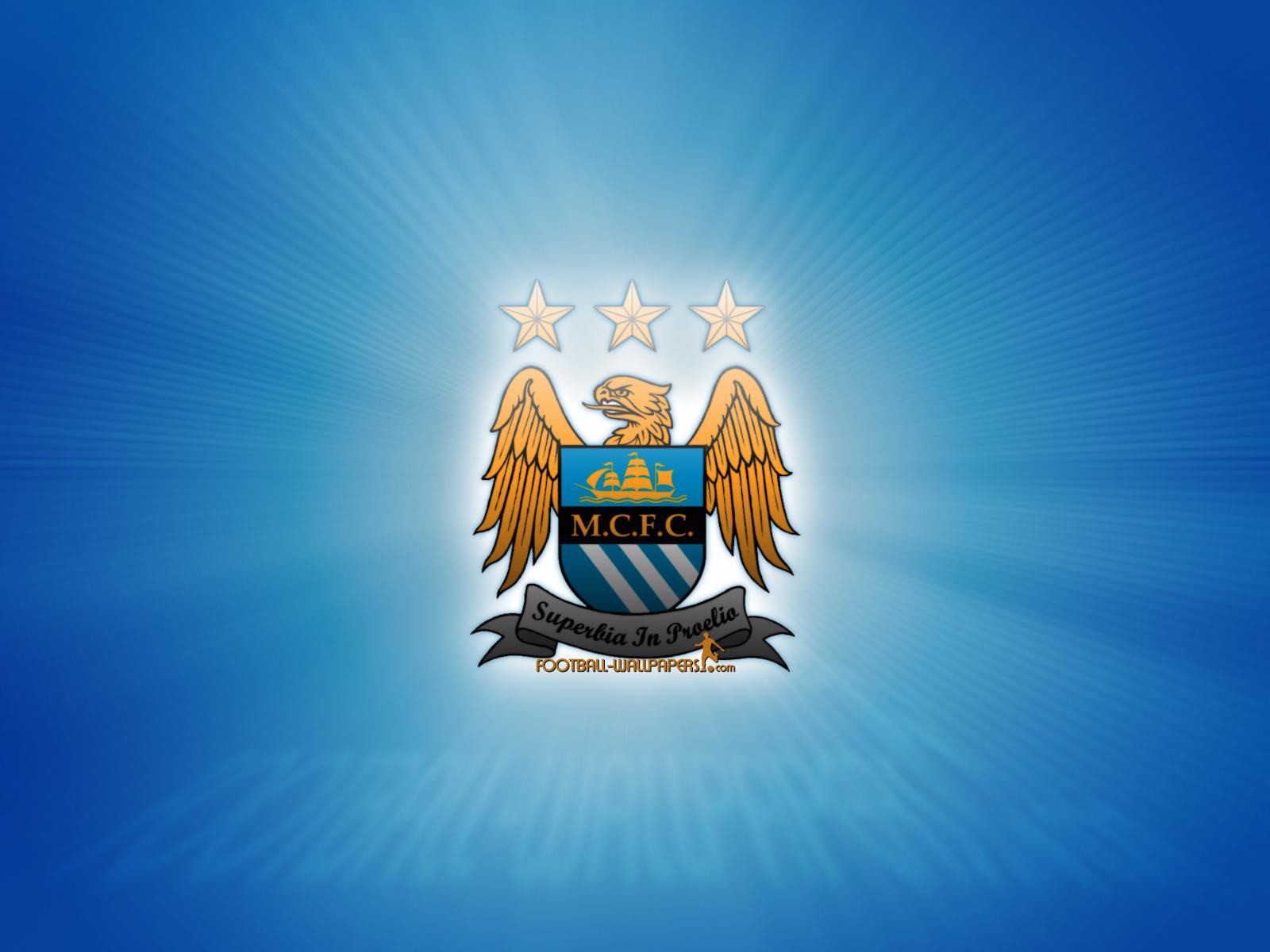 Manchester City Wallpaper: Manchester City Logo Wallpaper