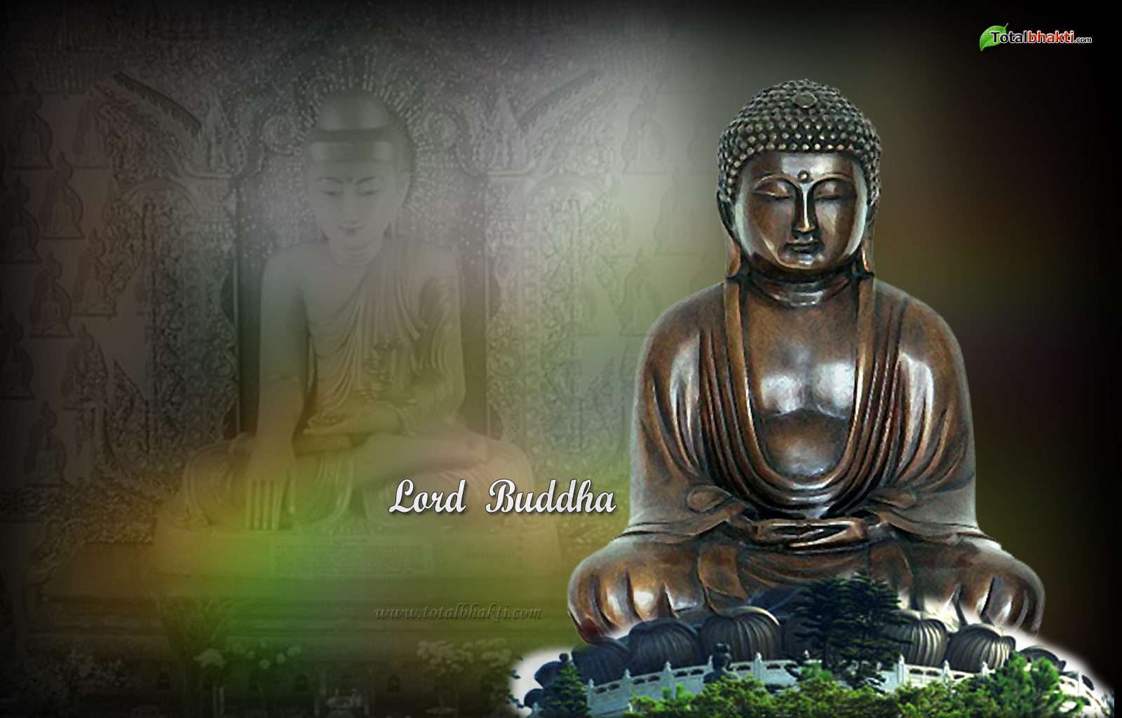 1600x1024 Lord Buddha Wallpaper