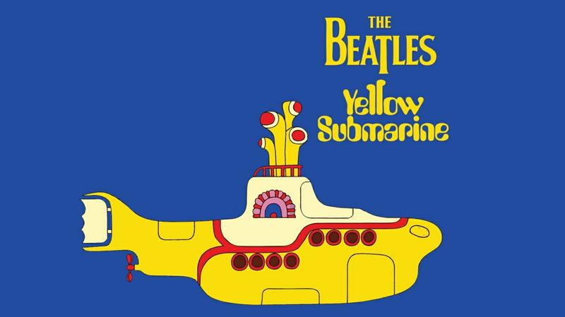 the beatles yellow submarine music bands 1366x768 wallpaper 800x449