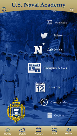 United States Naval Academy on the App Store on iTunes 320x568