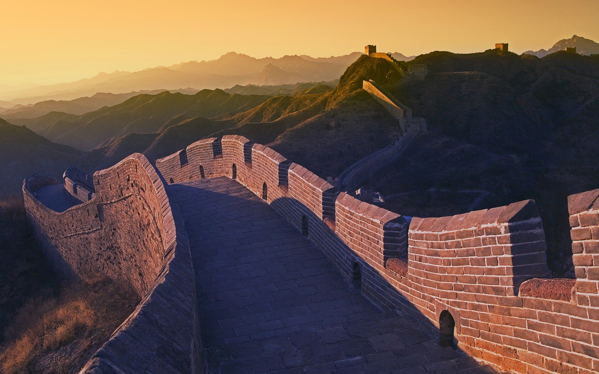 Great Wall of China desktop wallpaper 1920x1200
