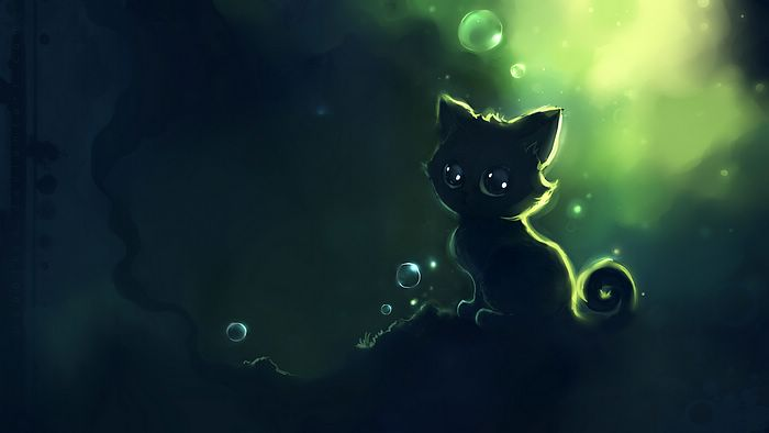 Heart touching Cuties and Kittens Speed Painting by Apofiss 9lemon 700x394
