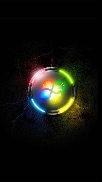 Windows 7 Neon 360x640