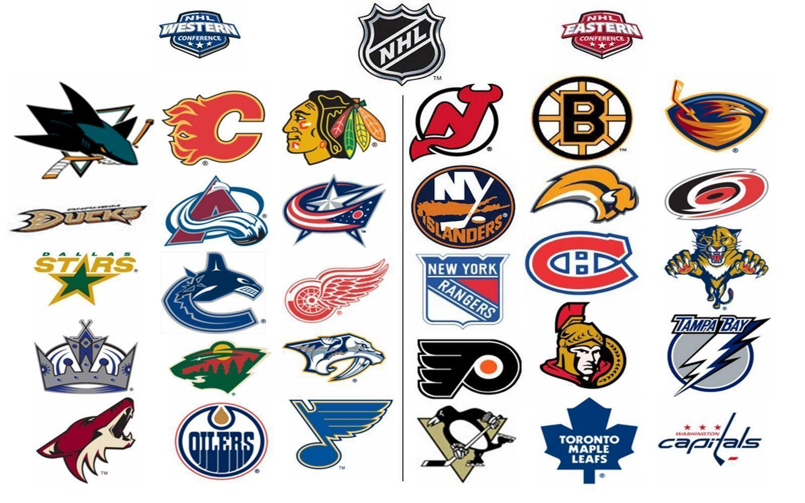 NHL Logo Wallpapers 1600x1000