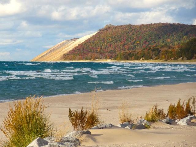 Sand Lake Auto >> Sleeping Bear Dunes Wallpaper - WallpaperSafari
