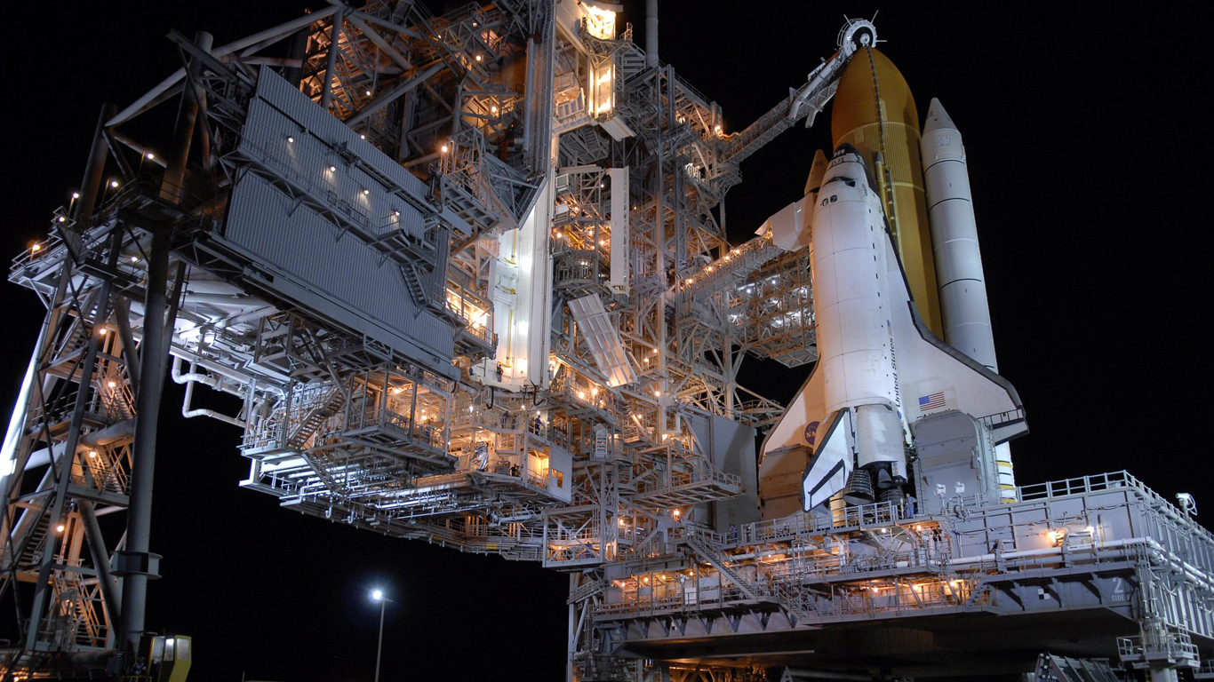 Space Shuttle Wallpaper 1366x768 Space, Shuttle