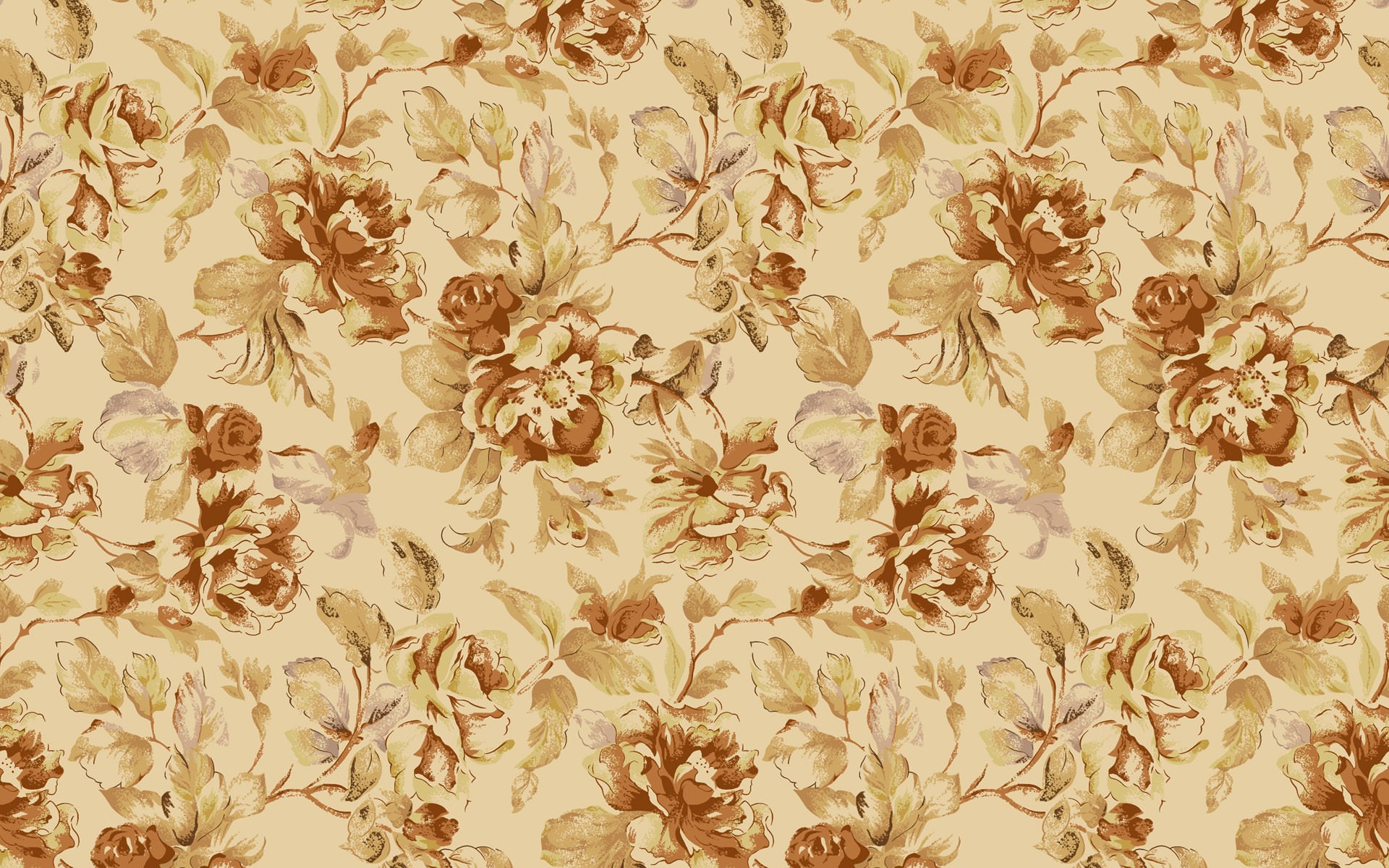 How does the Floral Vintage Wallpaper come in handy 1920x1200