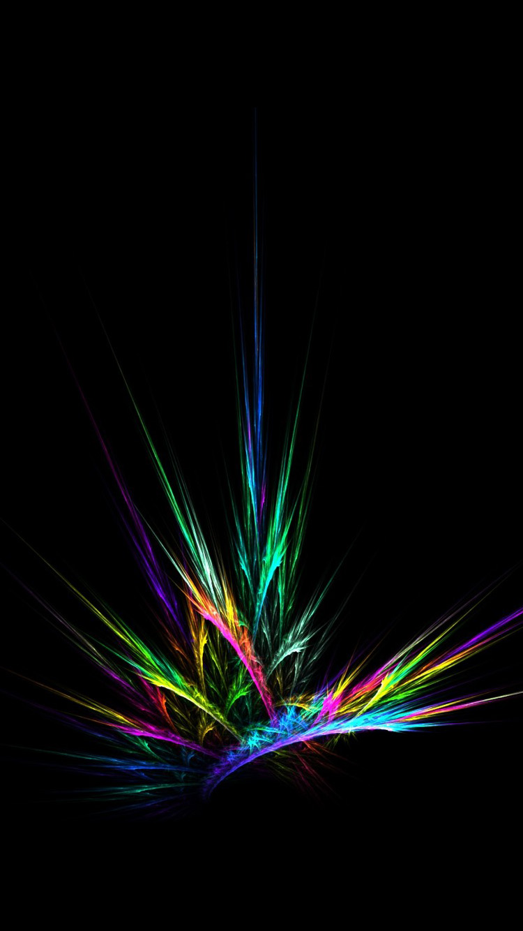 Emission color abstract iPhone 6 Wallpaper HD iPhone 6 Wallpaper 750x1334
