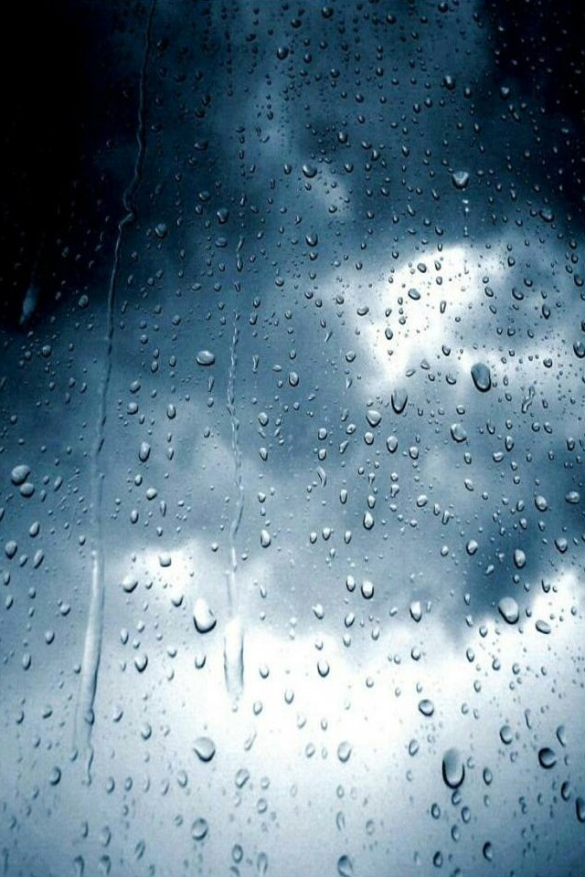 Rain iPhone Wallpaper - WallpaperSafari