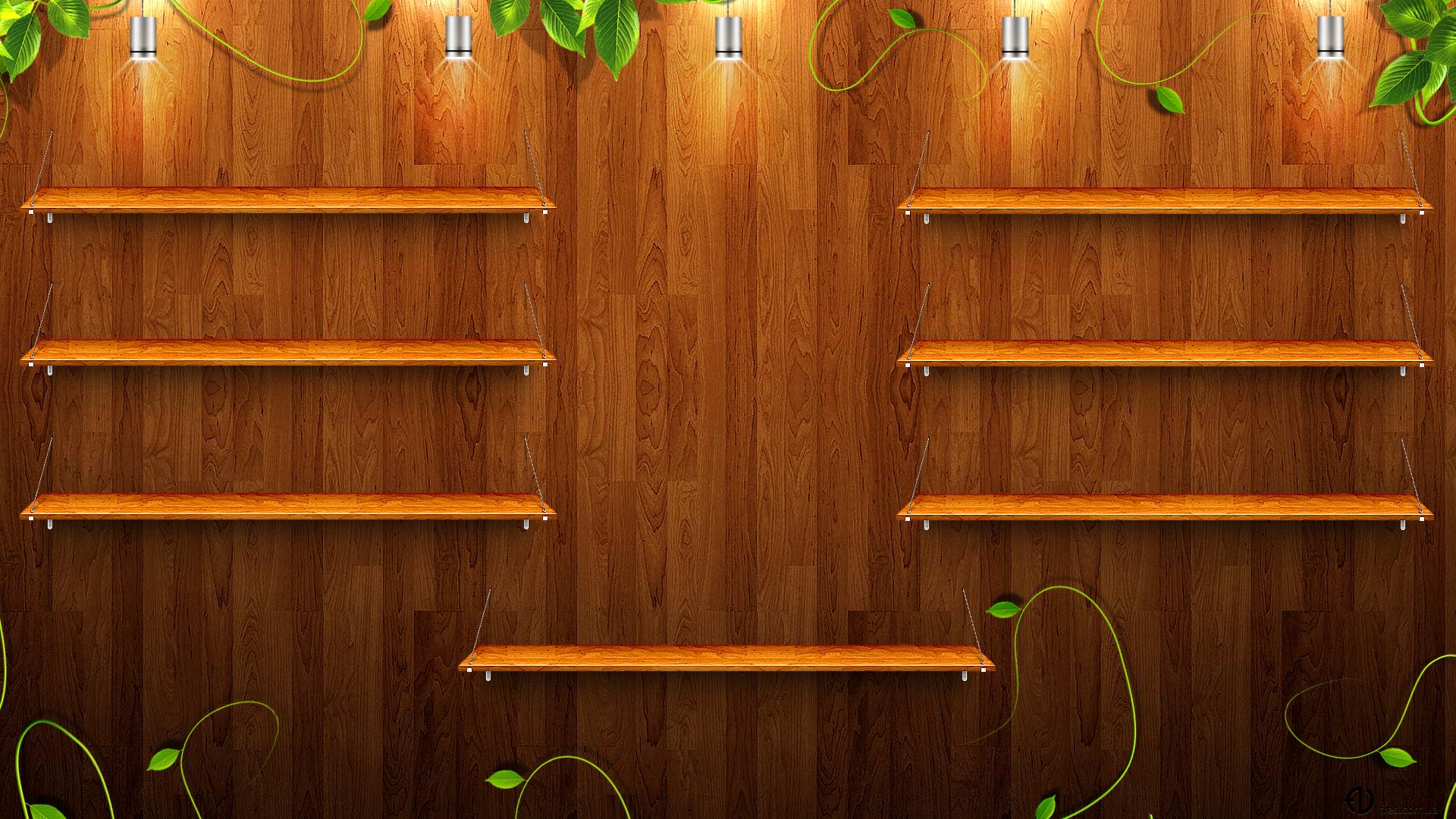 desktop wallpapers shelf with - photo #19