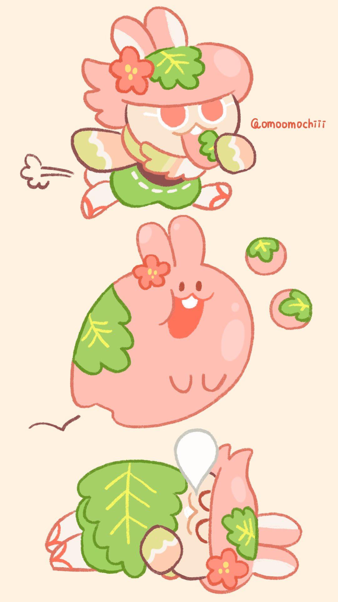 Moon Rabbit Cookie   Cookie Run   Mobile Wallpaper 2818140 1080x1920