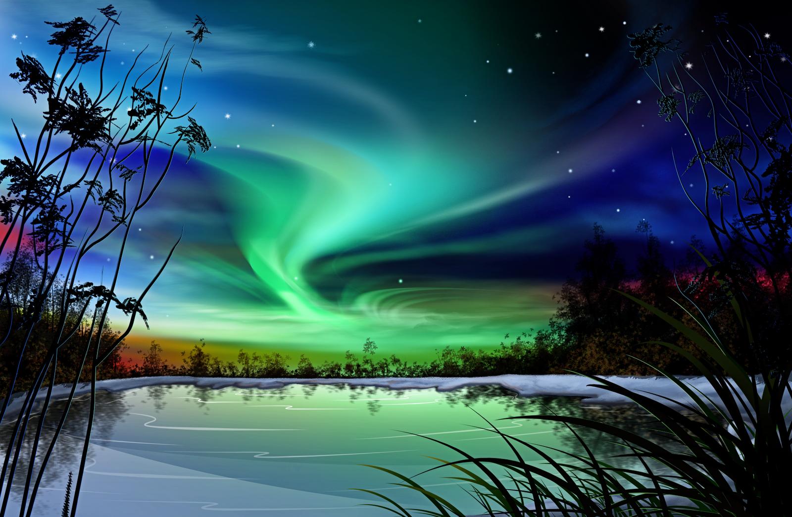 Northern Lights Wallpaper, wallpaper, Northern Lights Wallpaper hd ...