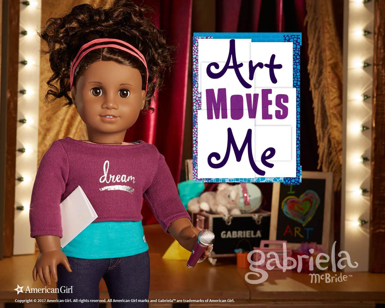 Gabriela McBride 2017 Girl of the Year Play American Girl 1280x1024