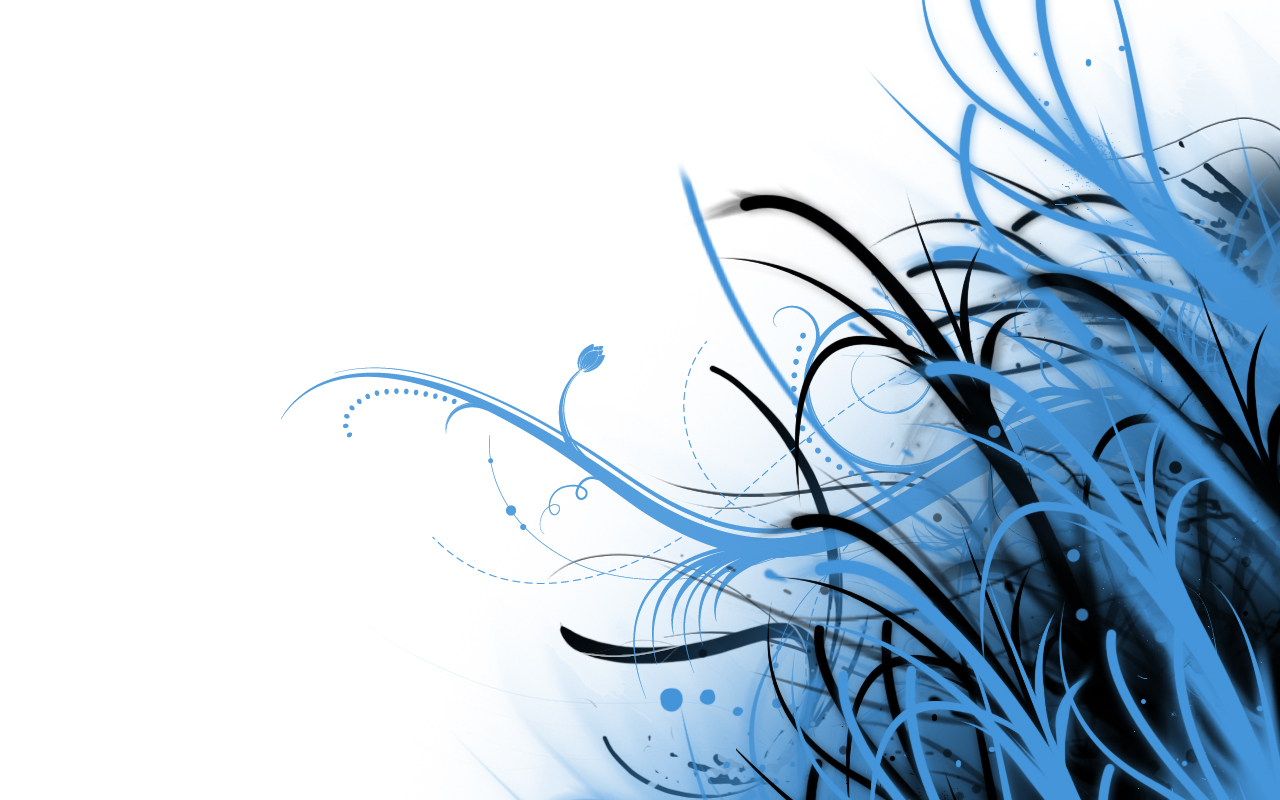 Abstract Wallpaper Blue and White by PhoenixRising23 1280x800