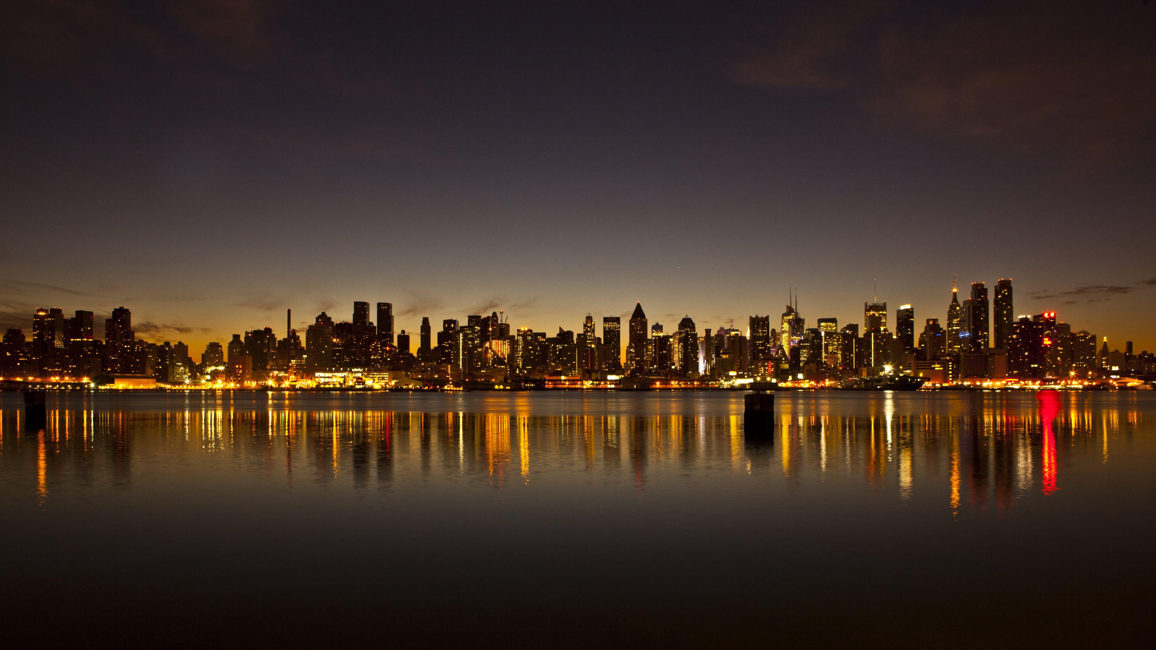 New York City Skyline 3840x2160