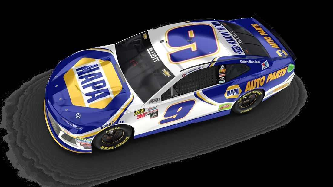 download Chase Elliott No 9 Chevrolet Hendrick Motorsports 1100x619