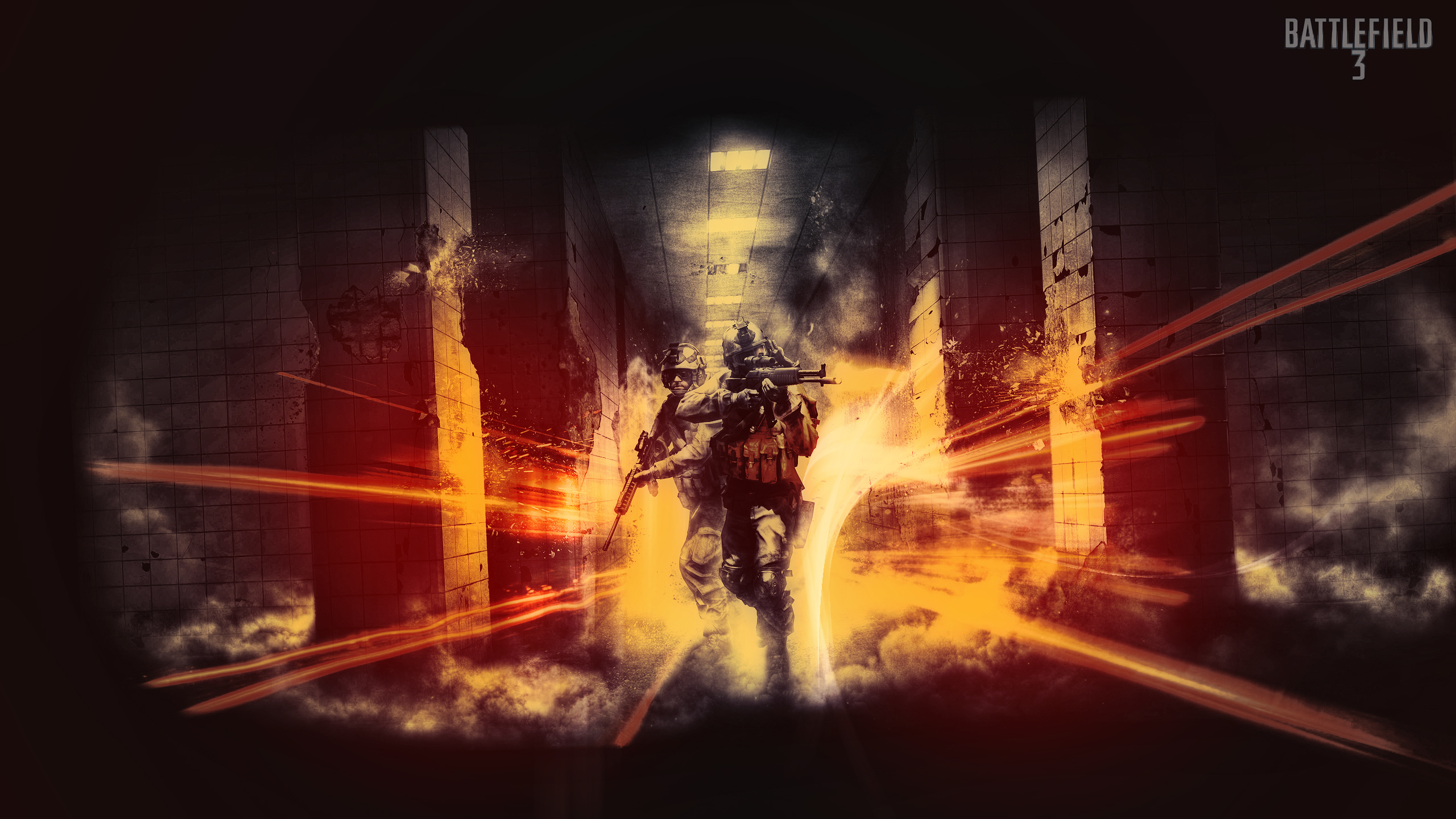 HD Battlefield 3 2560x1440 Wallpaper 2560x1440