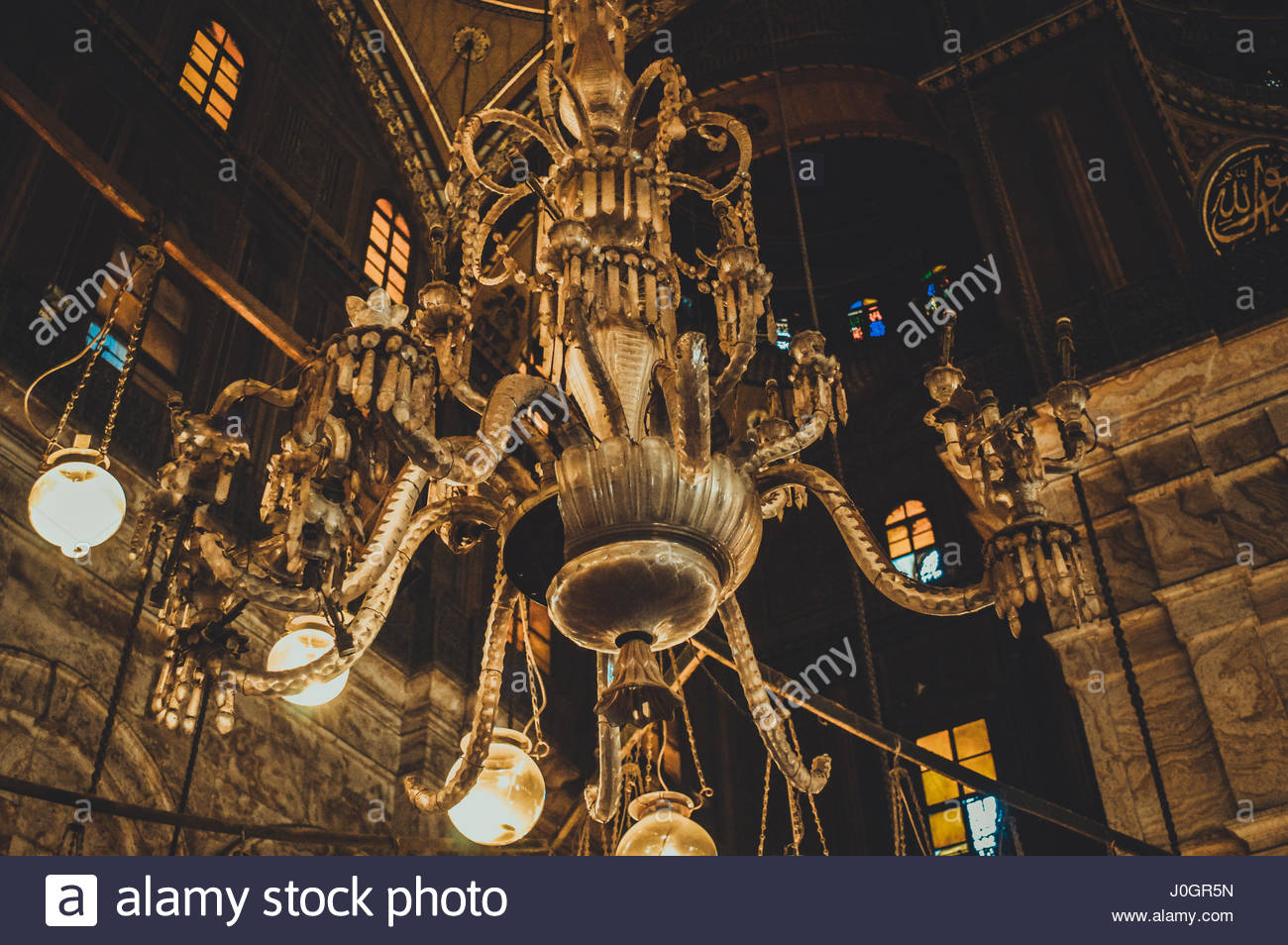 chandelier background Stock Photo 138052369   Alamy 1300x954