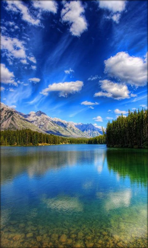 Landscape Live Wallpaper app download for Android 480x800