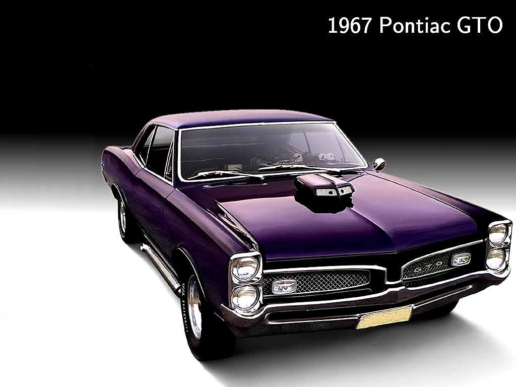 ulgobang Classic muscle cars wallpaper 1024x768