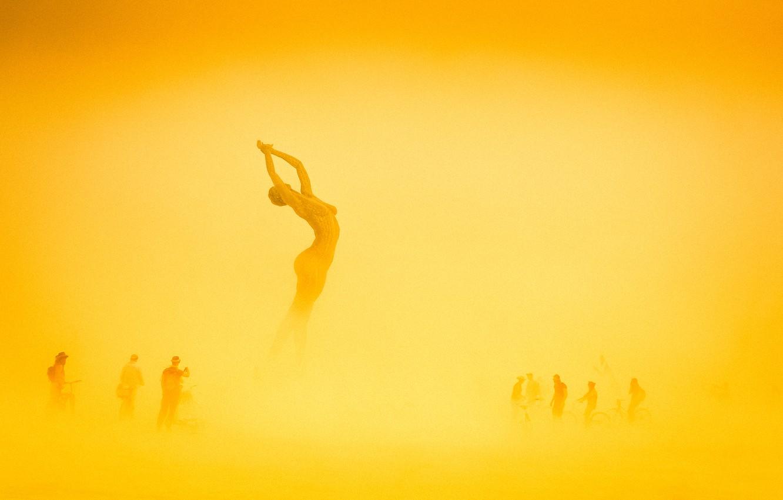 Wallpaper people fire art USA Nevada art Burning Man images 1332x850