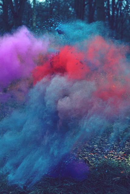 blue colors dust green magic   image 455448 on Favimcom 427x640
