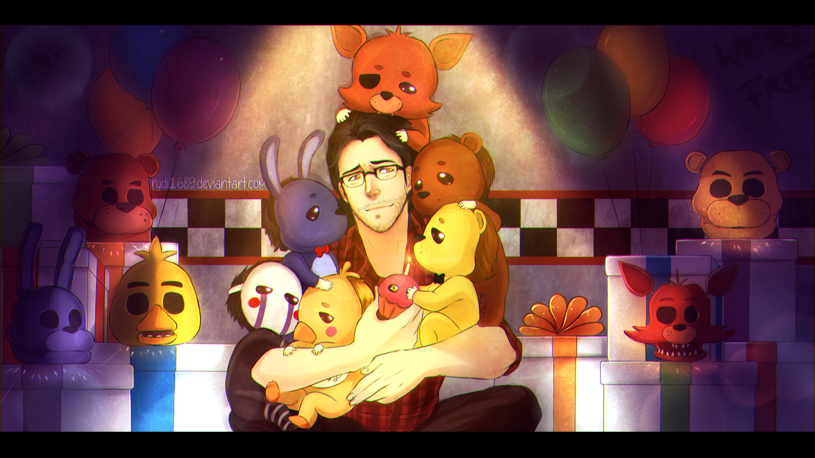 Top Five Markiplier Playing Five Nights At Freddy's Part 2